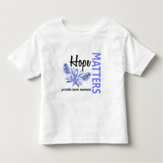 Hope Matters Butterfly Prostate Cancer Toddler T-shirt