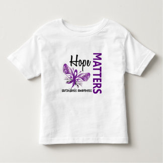 Hope Matters Butterfly Sarcoidosis Toddler T-shirt