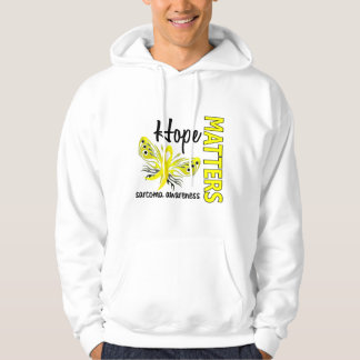 Hope Matters Butterfly Sarcoma Hoodie