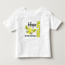 Hope Matters Butterfly Sarcoma Toddler T-shirt