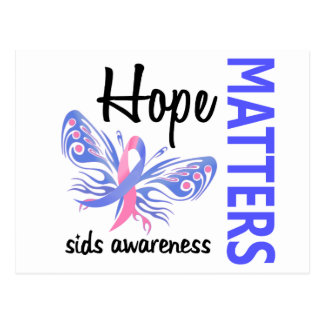 Hope Matters Butterfly SIDS Postcard