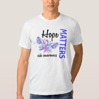 Hope Matters Butterfly SIDS T Shirts