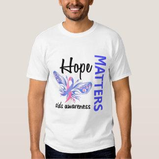 Hope Matters Butterfly SIDS Tee Shirt