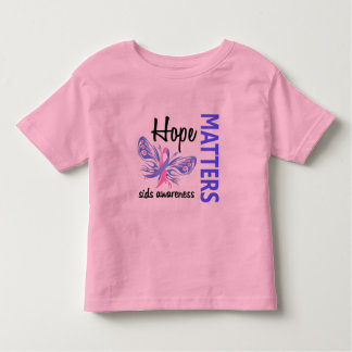 Hope Matters Butterfly SIDS Toddler T-shirt