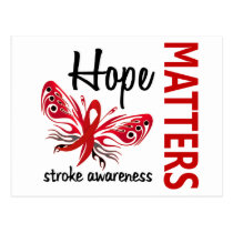 Hope Matters Butterfly Stroke Postcard