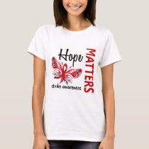 Hope Matters Butterfly Stroke T-Shirt