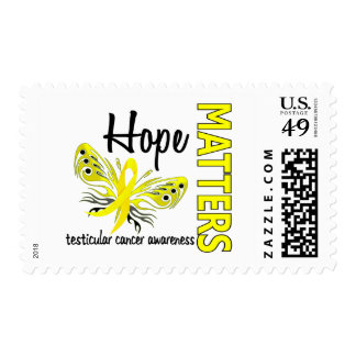 Hope Matters Butterfly Testicular Cancer Stamps