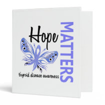 Hope Matters Butterfly Thyroid Disease Binder