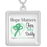 Hope Matters For My Daddy - Liver Cancer Custom Jewelry