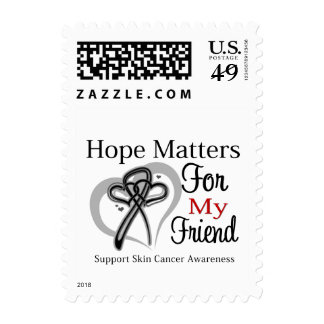 Hope Matters For My Friend - Skin Cancer Stamps