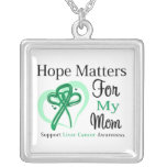 Hope Matters For My Mom - Liver Cancer Custom Jewelry
