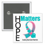Hope Matters Hereditary Breast Cancer Pins