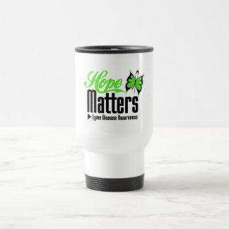 Hope Matters Lyme Disease Awareness Mugs