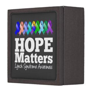 Hope Matters Lynch Syndrome Premium Jewelry Box