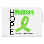 Hope Matters Non-Hodgkins Lymphoma (Jeweled Ribbon Cards