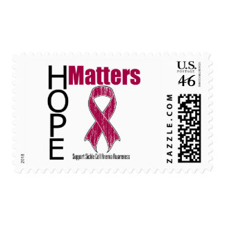 Hope Matters Ribbon Sickle Cell Anemia Postage Stamp