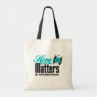 Hope Matters Tourette Syndrome Canvas Bag