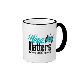 Hope Matters Tourette Syndrome Ringer Coffee Mug