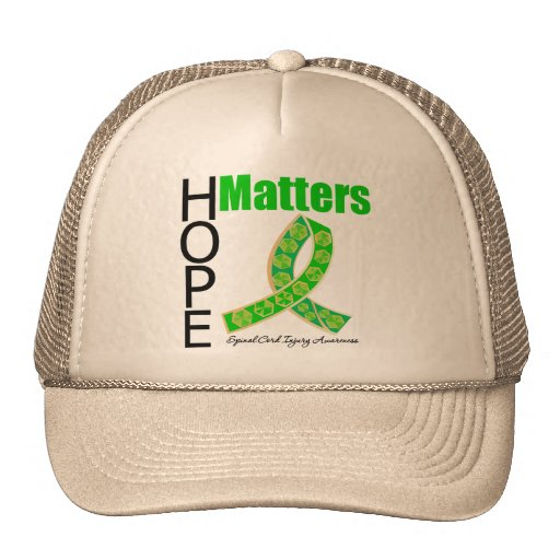 Hope Matters Traumatic Spinal Cord Injury Hat