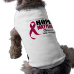 Hope Matters v3 Sickle Cell Anemia Doggie Tee Shirt