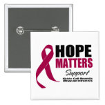 Hope Matters v3 Sickle Cell Anemia Pinback Buttons