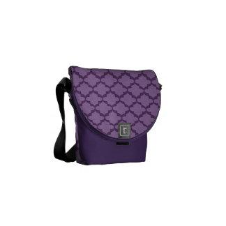 Hope Messenger Bag - Grape Mini