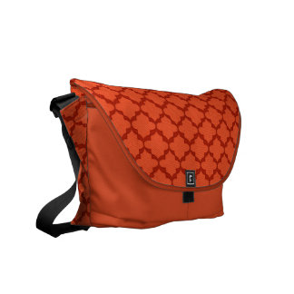 Hope Messenger Bag - Tangerine Med.