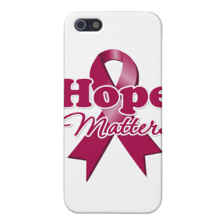 Hope Multiple Myeloma iPhone 5 Cases