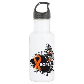 Hope Multiple Sclerosis Butterfly 18oz Water Bottle