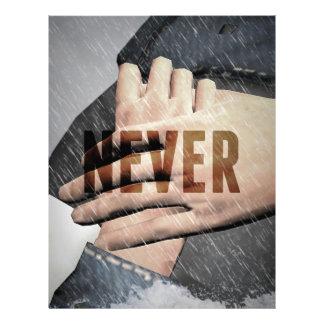 Hope Never Drowns Letterhead