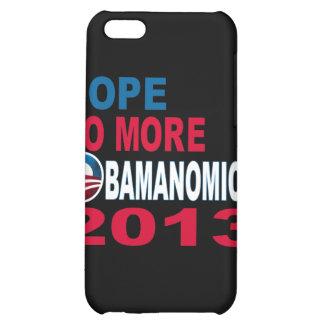 Hope No More Obamanomics 2013 iPhone 5C Case
