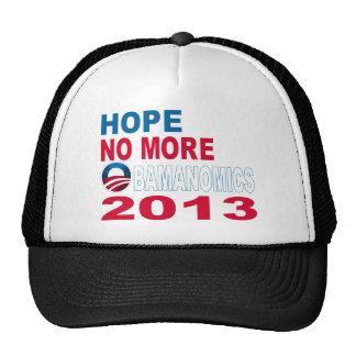 Hope No More Obamanomics 2013 Trucker Hats