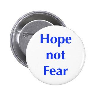 Hope not Fear Button