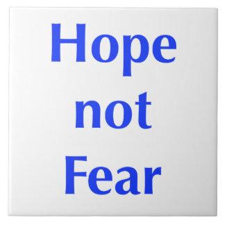 Hope not Fear Tile