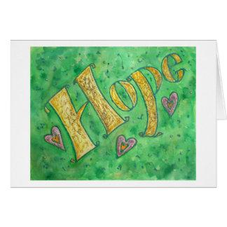 Hope Note Card