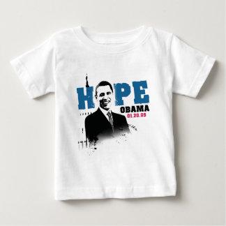 Hope Obama 01-20-09 Baby T-Shirt
