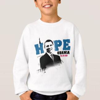 Hope Obama 01-20-09 Sweatshirt