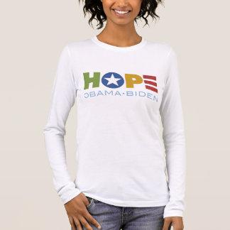 HOPE Obama Biden Long Sleeve T-Shirt