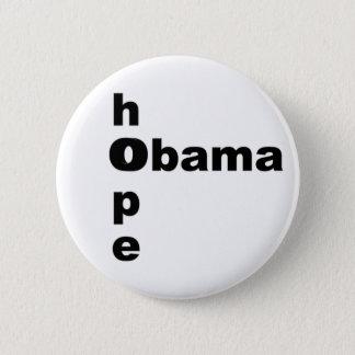 Hope & Obama Pinback Button