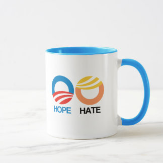 HOPE (Obama) vs. HATE (Trump) Mug