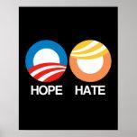 HOPE (Obama) vs. HATE (Trump) Poster