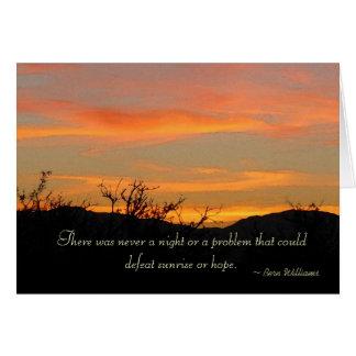 Hope of Sunrise - Greeting Card