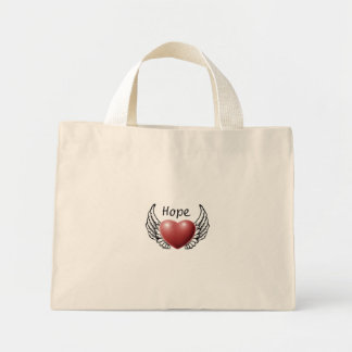 Hope on Angel Wings Tote Bag