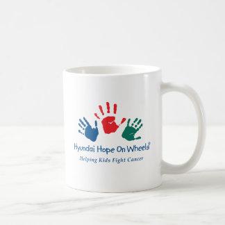 Hope On Wheels Logo Mug