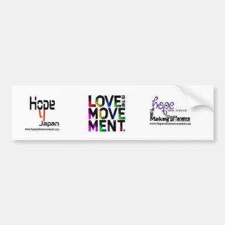 Hope online Bumper Bumper Sticker
