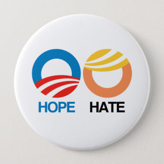Hope or Hate - 2016 Election - Button