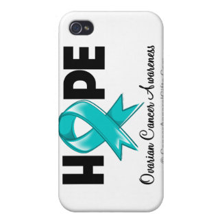 Hope Ovarian Cancer Awareness Covers For iPhone 4