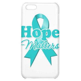 Hope Ovarian Cancer iPhone 5C Case
