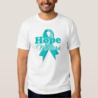 Hope Ovarian Cancer T Shirt