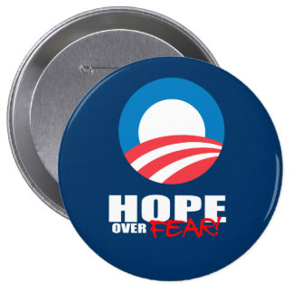 HOPE OVER FEAR BUTTON